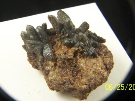Prazym Hiddenbergite in Quartz 09-00259