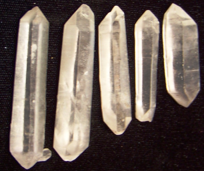 09-00545 Double Terminated Quartz Points